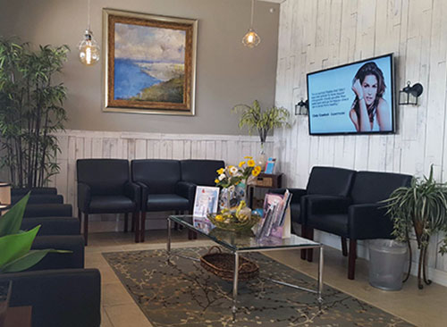 Reception Area at Lakeland's Advanced Spinal Care