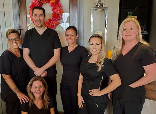 The team at Advanced Spinal Care Chiropractic MedSpa & Massage